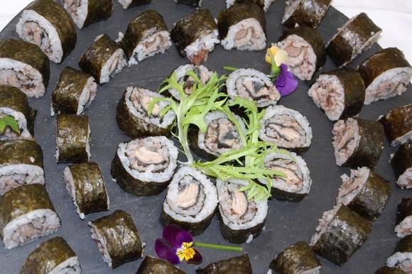 Sushi de lampreia