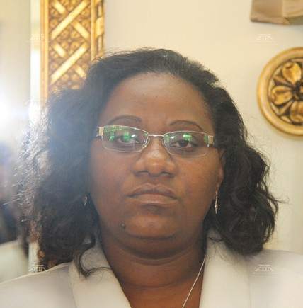 Cidalia Manuel Chauque. Governadora da provinci...