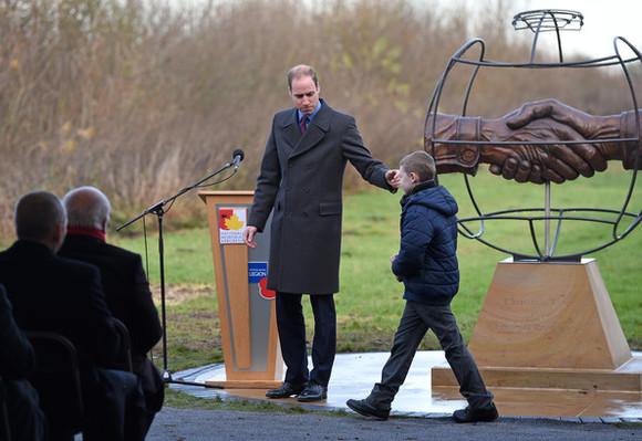 HRH+Duke+Cambridge+President+FA+Unveil+Christmas+V