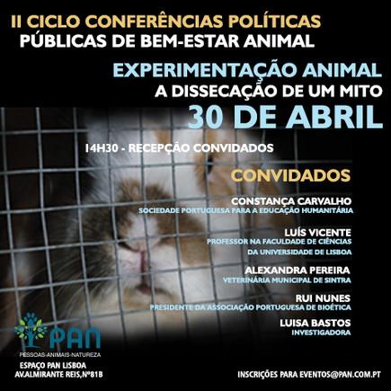 experimentação animal-CARTAZ