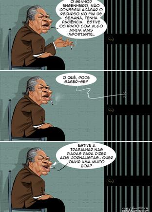 Cartoons - Advogado de José Sócrates