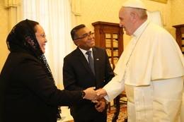 Visita do Primeiro-Ministro no Vaticano - 2016
