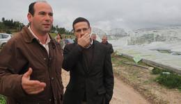 Portugal - Ministro Antonio Serrano Visita Torres