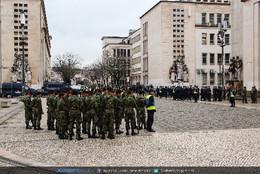 Polícia, GNR, Exército, Marinha e Paraquedistas