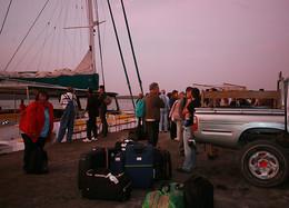 Passageiros questionam condições