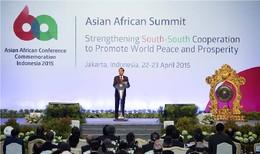 Abertura Konferensia Azia-Afrika ba dala 60
