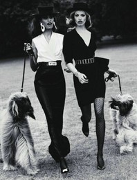Joan Smalls & Hailey Clauson