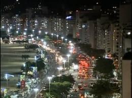 Copacabana está fervendo, com o Rio lotado, a cap