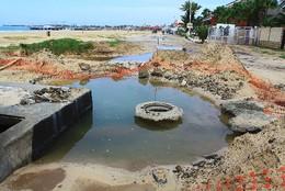Estragos deixados pelo furacão Fred no Sal