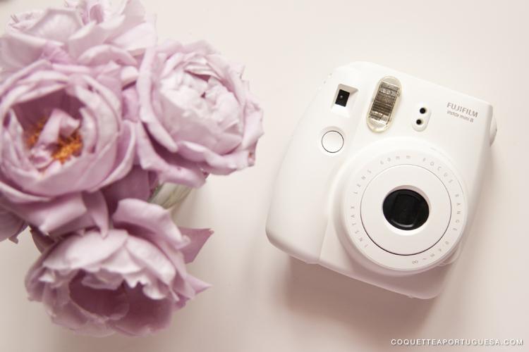 fujifilm instax mini white branco branca instantan