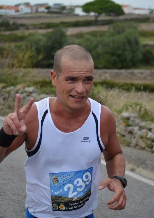 Joao Figueiredo na rampa dos 15km