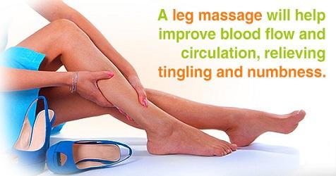 Leg massage (benefits) (13-10-15)
