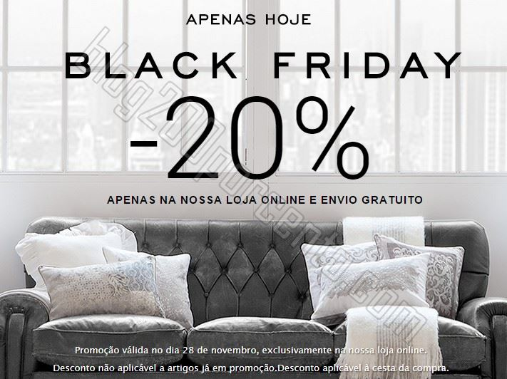 black friday zara home 20 desconto oferta envio blog