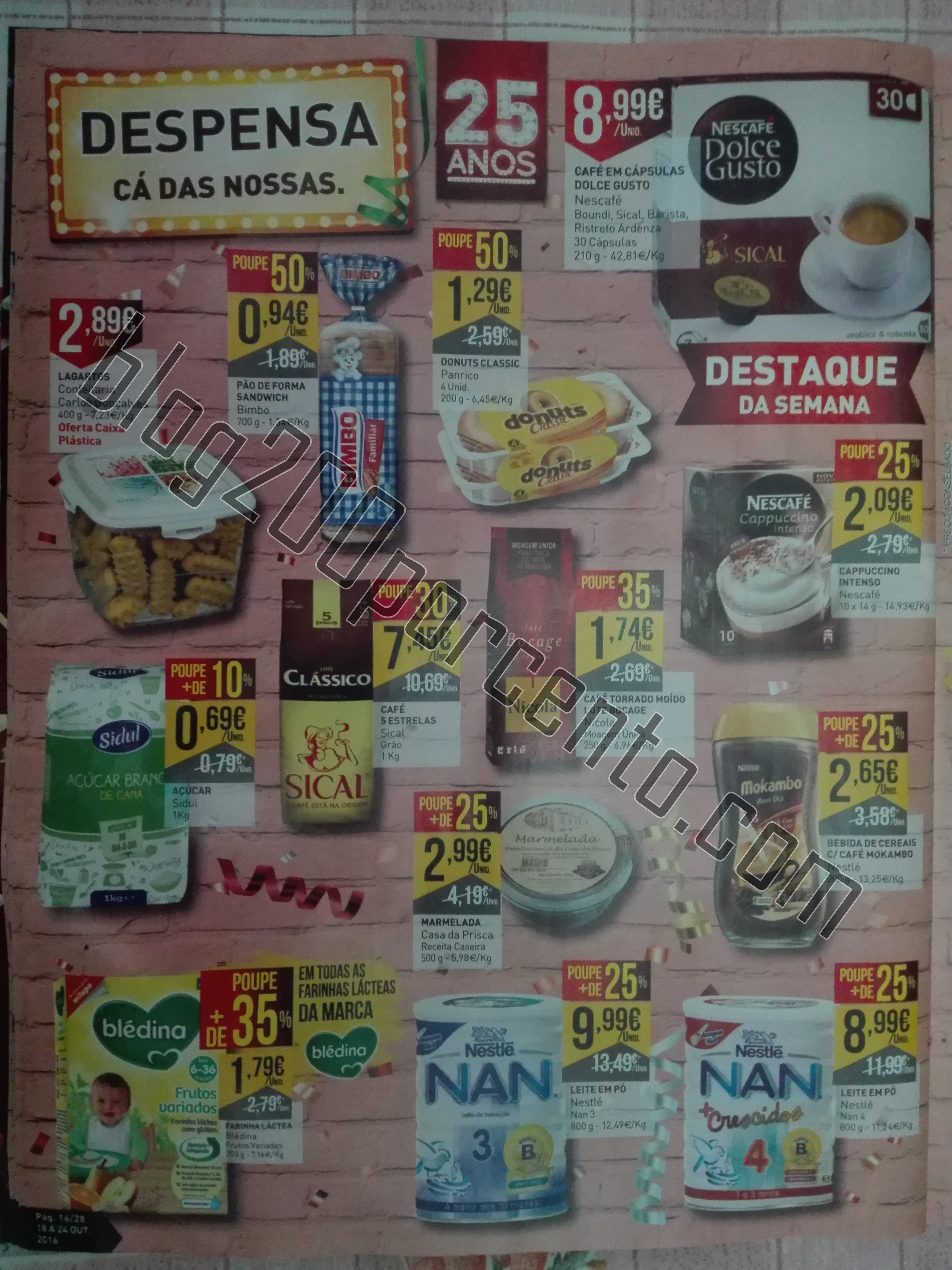 Antevisão Folheto Intermarché 18a24out – 2ªParte