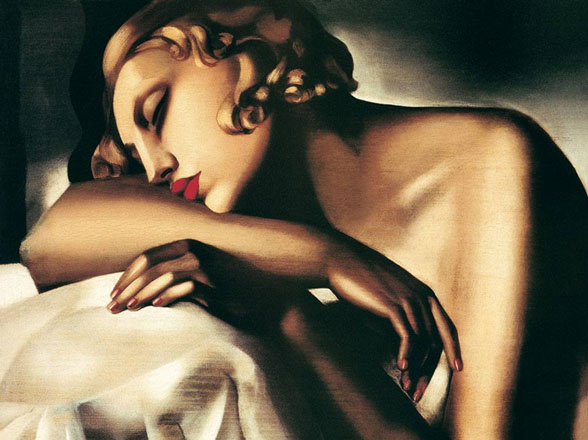 Tamara de Lempicka the_sleeping_girl.jpg