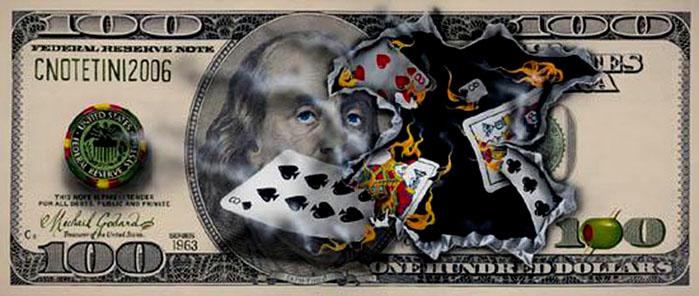 Michael Godard 100-bill-full-house-michael-godard.