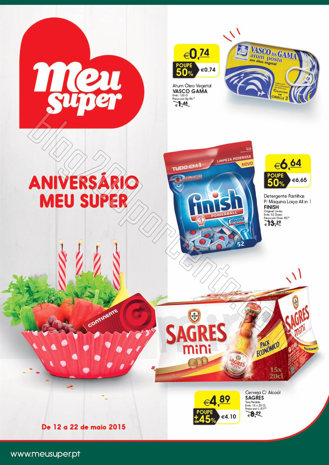 Novo Folheto MEU SUPER Promoções de 12 a 22 maio
