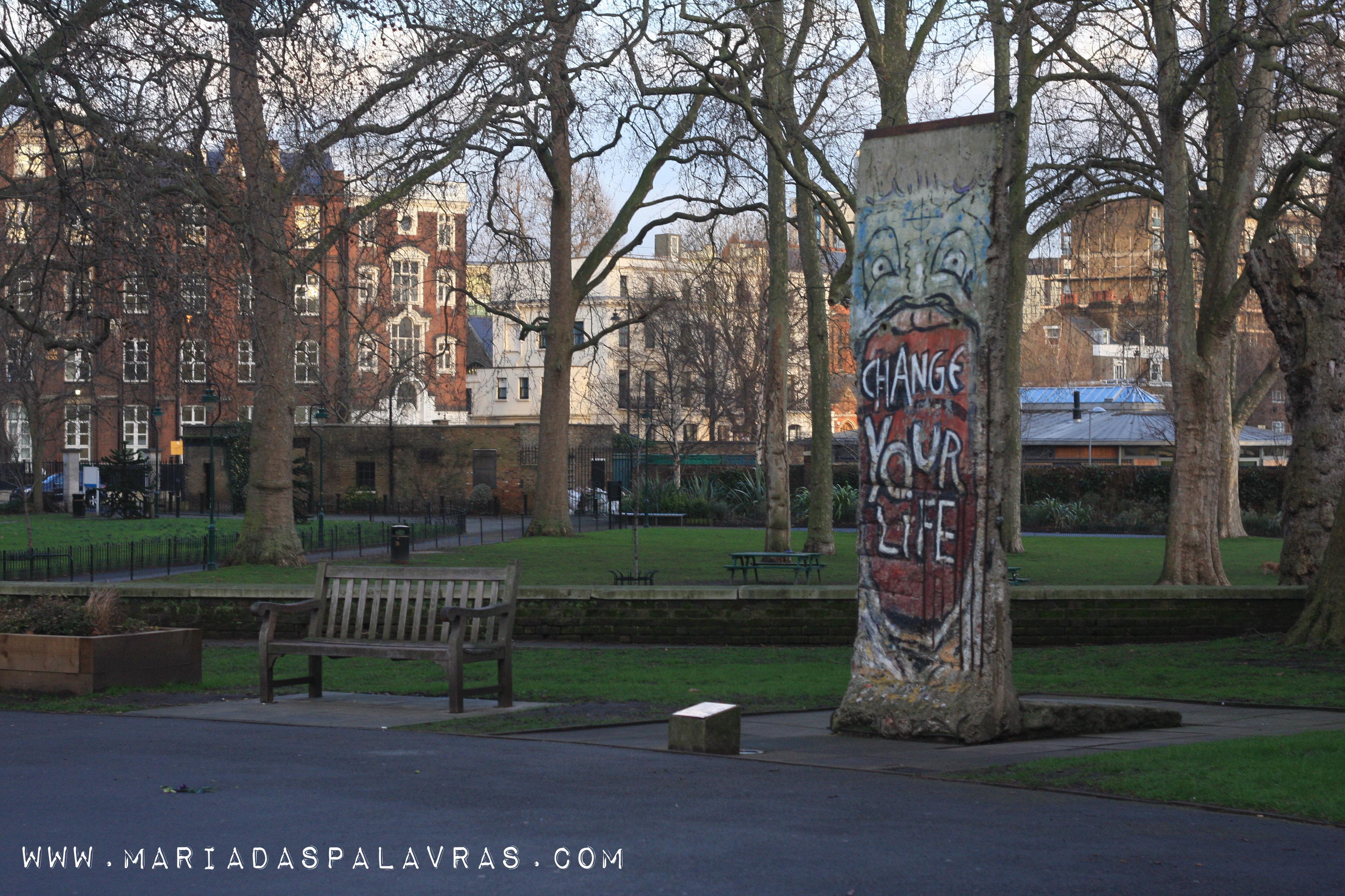 Churchill War Rooms - Jardim - Londres | Maria das Palavras