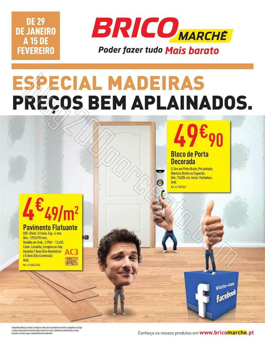 Antevisão Folheto BRICOMARCHÉ de 29 janeiro a 15
