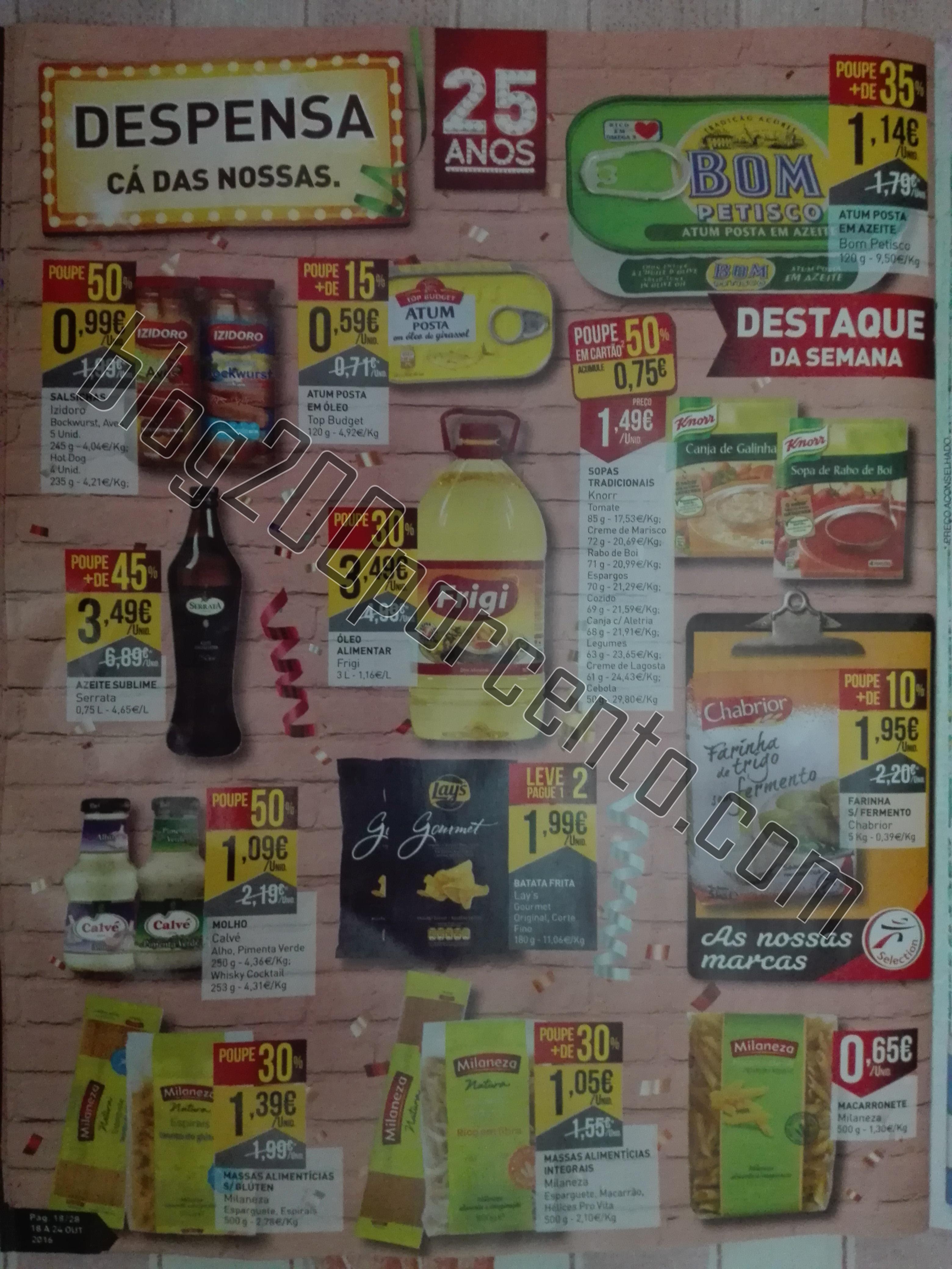 Antevisão Folheto Intermarché 18 a 24out – 2ªParte