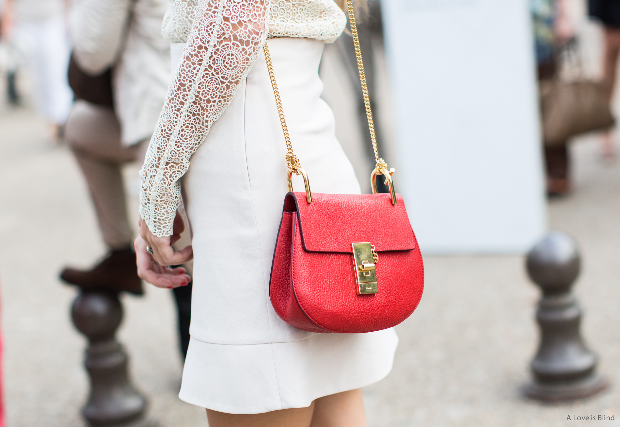 Paris Fashionweek ss2015 day 5, outside Chloé