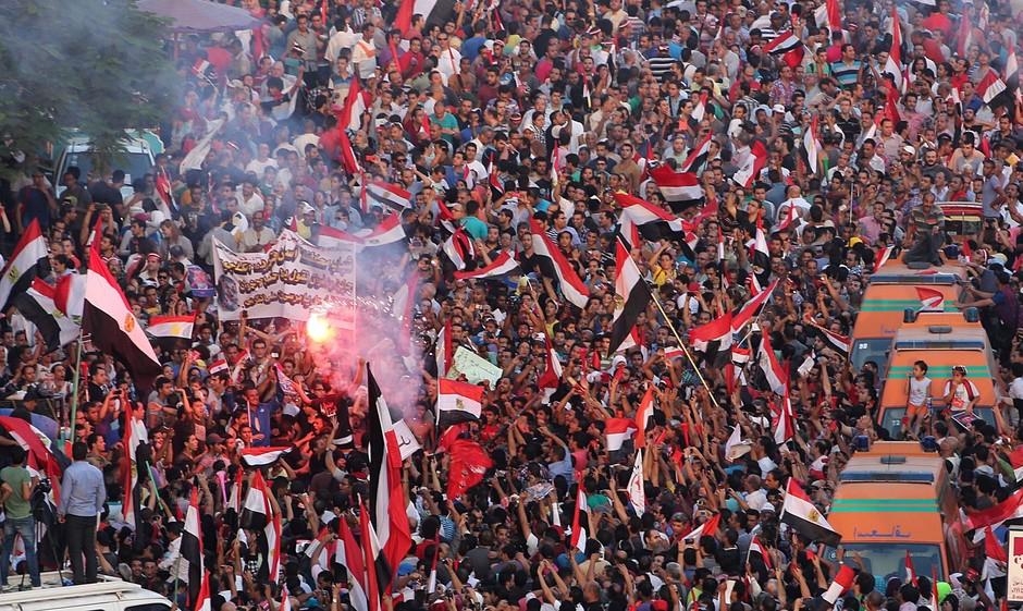 EGYPT INNAUGURATION ANNIVERSARY PROTESTS